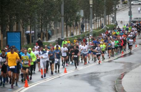 Шестой Московский марафон