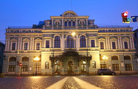 Большой драматический театр в Санкт-Петербурге.