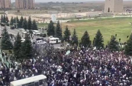 Протесты в Магасе.