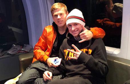 Александр Кокорин (слева) и Павел Мамаев.