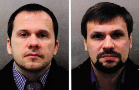 Александр Петров (слева) и Руслан Боширов.