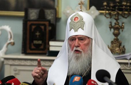 Глава УПЦ Киевского патриархата Филарет.