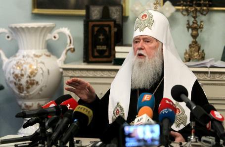 Глава Украинской православной церкви Киевского патриархата Филарет.