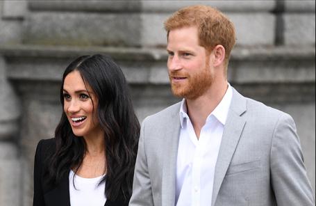 Герцогиня Сассекская Меган и принц Гарри.