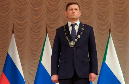 Инаугурация избранного губернатора Хабаровского края Сергея Фургала.