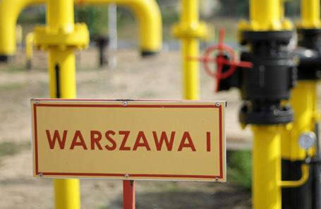 Газораспределительная станция в Густошине. Польша.