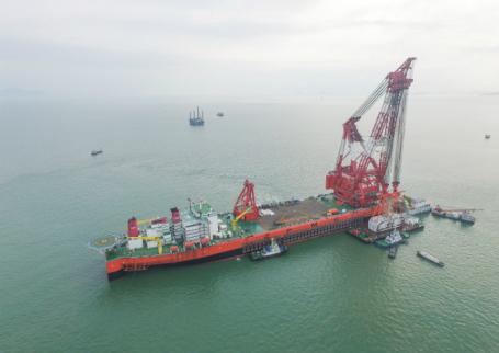 ВКитайской народной республике построили самый длинный морской мост вмире