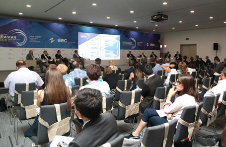 На форуме Евразийской экономической недели. Архив.