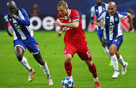 Лига чемпионов УЕФА: «Локомотив» (Россия) – «Порту» (Португалия) - 1:3.