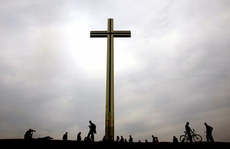 Папский Крест в Феникс-парке в Дублине.