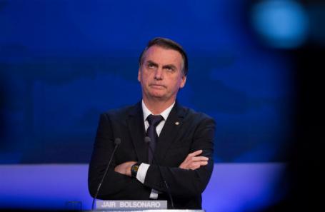 Кандидат в президенты Бразилии от Социал-либеральной партии Жаир Болсонару