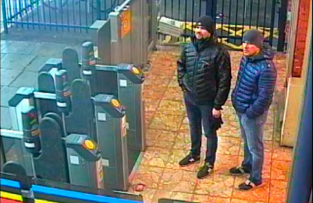 Руслан Боширов (слева) и Александр Петров.