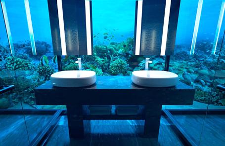 Ванная комната в номере Muraka.