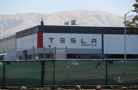 Завод Tesla. США.