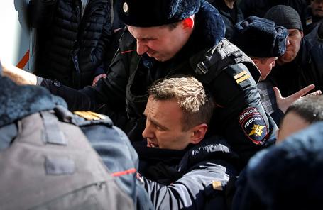 Алексей Навальный. Март, 2017 года.