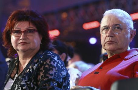 Елена Степаненко и Евгений Петросян.