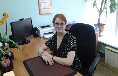 Наталья Охотникова.