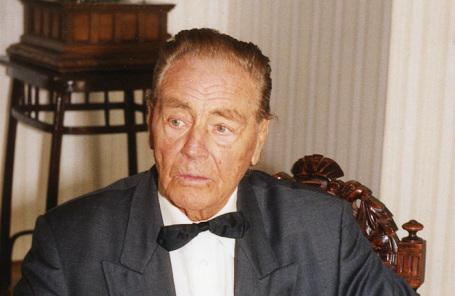 Барон Эдуард фон Фальц-Фейн.