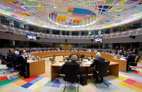 Экстренный саммит лидеров стран ЕС по Brexit в Брюсселе.