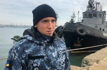 Комендор-сигнальщик, матрос катера «Никополь» Сергей Цыбизов, задержанный в районе Керченского пролива за пересечение государственной границы России.