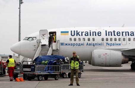 Международный аэропорт «Борисполь». Киев.