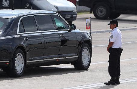 Лимузин Владимира Путина в Буэнос-Айресе.