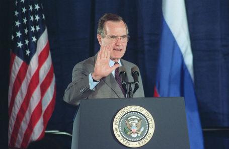 41-й президент США Джордж Буш — старший, 1992 год.