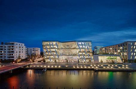 Штаб-квартира Saxo Bank в Копенгагене, Дания.