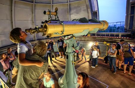 Пулковская астрономическая обсерватория в Санкт-Петербурге.