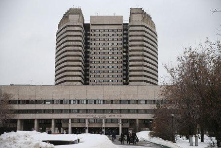Здание Российского онкологического научного центра им. Н.Н. Блохина на Каширском шоссе.