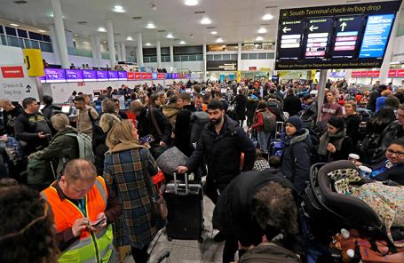 Аэропорт «Гатвик». Лондон.