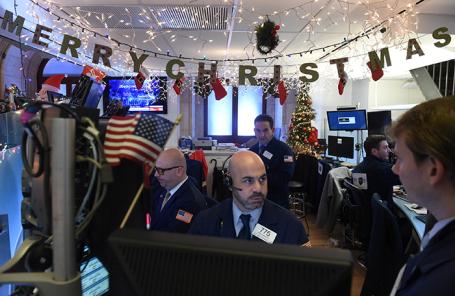 Нью-Йоркская фондовая биржа.