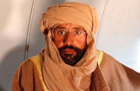 Саиф аль-Ислам Каддафи.