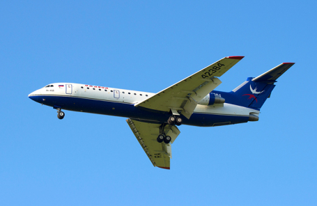 Самолет авиакомпании «Ижавиа» .