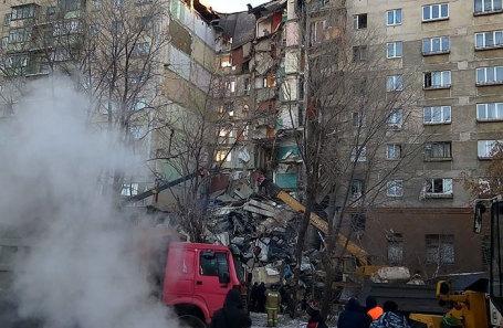 Взрыв газа в Магнитогорске, 31 декабря 2018 года.