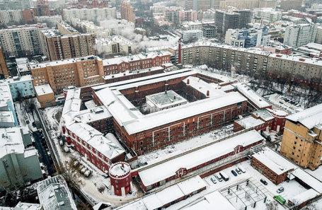 Бутырская тюрьма в Москве.