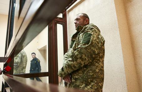 Избрание меры пресечения украинским военнослужащим, задержанным в Керченском проливе. Ноябрь 2018 года.