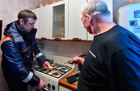 Проверка газового оборудования в квартире.