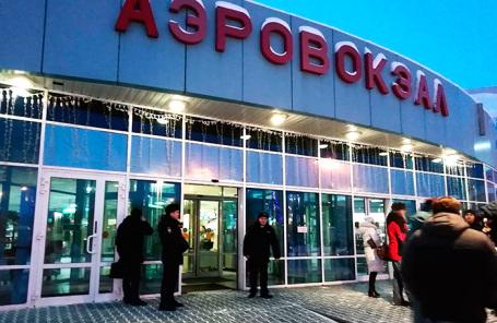 Аэропорт в Ханты-Мансийске.