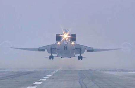 Бомбардировщик ТУ-22М3.