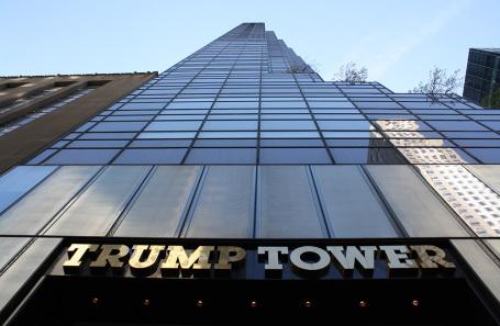 Trump Tower в Нью-Йорке.