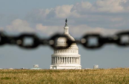 Здание Конгресса США. Вашингтон.