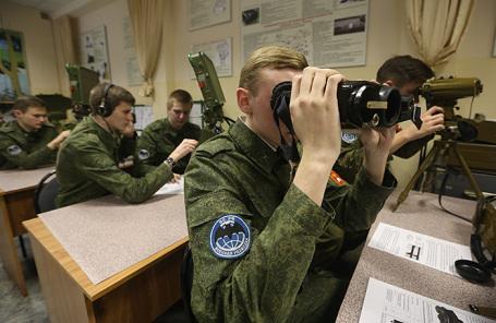 Военная кафедра в Высшей школе экономики.