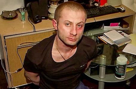 Во время задержания мужчины, подозреваемого в похищении картины А. Куинджи «Ай-Петри. Крым» из Третьяковской галереи.