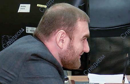 Рауф Арашуков в Следственном комитете РФ.