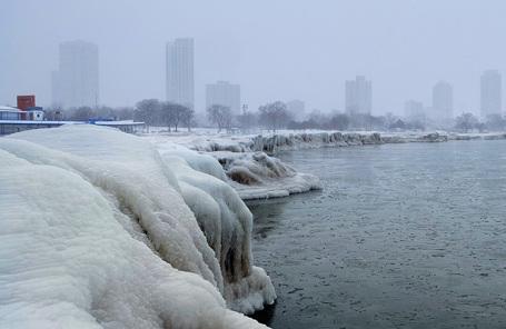 Озеро Мичиган, Чикаго.