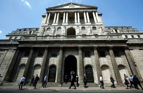 Банк Англии.