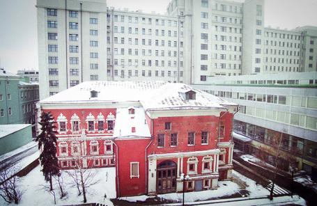 Палаты бояр Троекуровых в Георгиевском переулке.