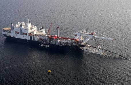 Укладка газопровода Nord Stream 2.