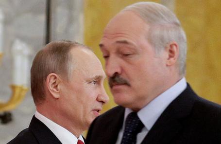 Владимир Путин и Александр Лукашенко.